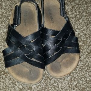Black Toddler Sandals